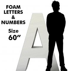 """Letters & Numbers 60"""""""