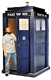 The Tardis 3D - Doctor Who Cardboard Cutout Standup Prop