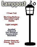 Foam Lamp Post Prop