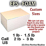 EPS Foam Custom Cut