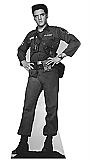 Elvis Army Fatigues (Talking) - Elvis Cardboard Cutout Standup Prop