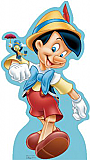 Pinocchio and Jiminy Cricket - Disney Classics Cardboard Cutout Standup Prop