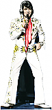 Elvis Jump Suit (Talking) - Elvis Cardboard Cutout Standup Prop