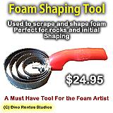 Foam Shaping Tool