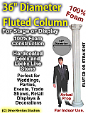 "Foam Column Prop 36"" Diameter"