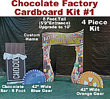 Chocolate Factory Cardboard Props Kit #1