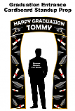 Graduation Entrance Cardboard Standup Prop