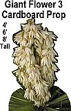 Giant Flower 3 Cardboard Cutout Standup Prop