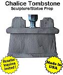 Tombstone Chalice Sculpture Statue Prop