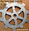"36"" Big Foam Gear-B Prop"
