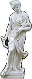 Greek Statue 2 Cardboard Cutout Standup Prop