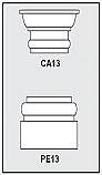 CA13-PE13 - Architectural Foam Shape - Capital & Pedestal