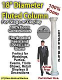 "Foam Column Prop 18"" Diameter"