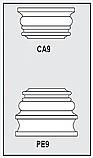CA9-PE9 - Architectural Foam Shape - Capital & Pedestal