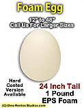 24 Inch Big Egg Foam Prop