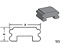 W3 - Architectural Foam Shape - Wall Cap