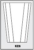 KE6 - Architectural Foam Shape - Keystone